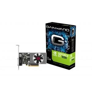 Placa de Video Gainward Nvidia Geforce GT1030 2GB-DDR4-64bits - NEC103000646-1082F