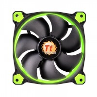 FAN TT RIING 12 RADIATOR FAN LED GREEN 1500RPM CL-F038-PL12GR-A