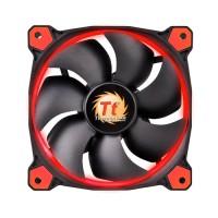 FAN TT RIING 12 RADIATOR FAN LED RED 1500RPM CL-F038-PL12RE-A