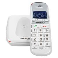Telefone Sem Fio Com Identificador TS 63 V 1.9GHZ Branco  4000082